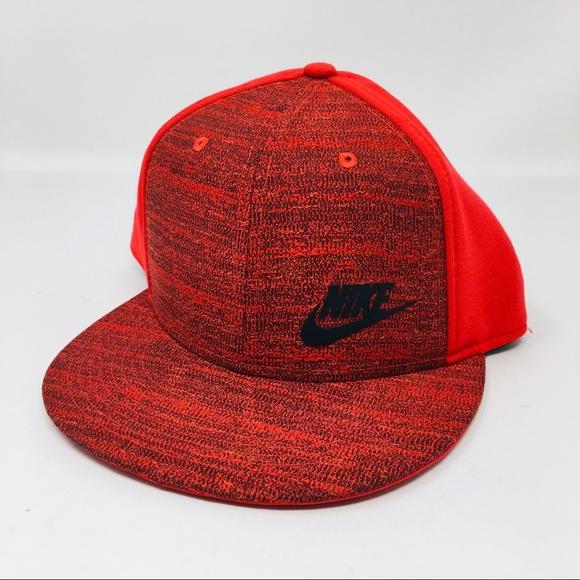 Nike Other - Nike Men Red SnapBack Hat